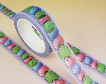 Stacking Slimes - Stationary Washi Tape