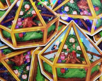 Summer Terrarium - Sticker Set