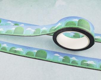 Happy Hills - Stationary Washi Tape