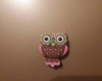 Owl needle minder