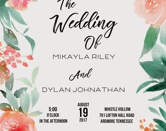 Wedding & Shower Invitations