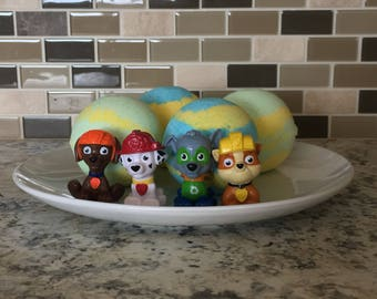 Paw Patrol Toy Surprise Bath Bombs - Set of 4