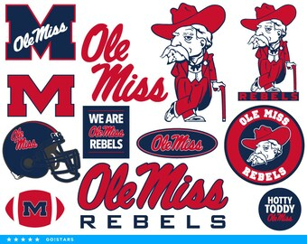 Ole Miss Png Etsy