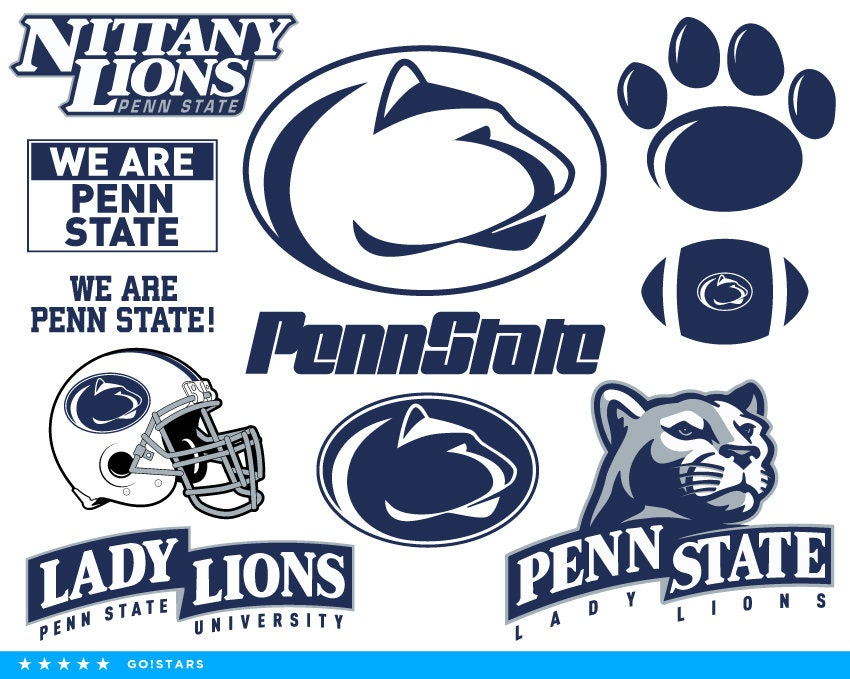 Nittany Lions Svg-Penn State Nittany Lions Svg Nittany Lions | Etsy