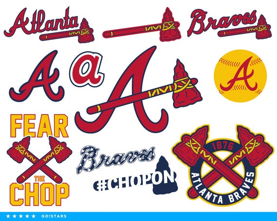 Braves Svg Atlanta Clipart Baseball Vector Files Pdf Png Dxf Eps From GoStarsNow