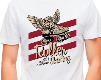 T-shirt Winged Roller Skating Championship 25791