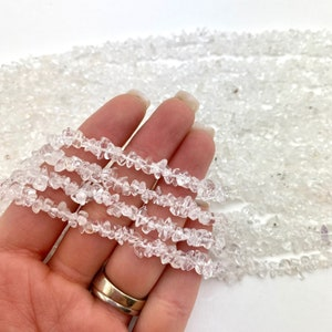 30 quartz teeth knotted and rudraksha hand beaded statement necklace tanzanite