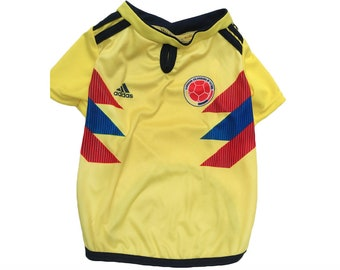 Colombia Dog and Cat jersey FIFA Word Cup 2018
