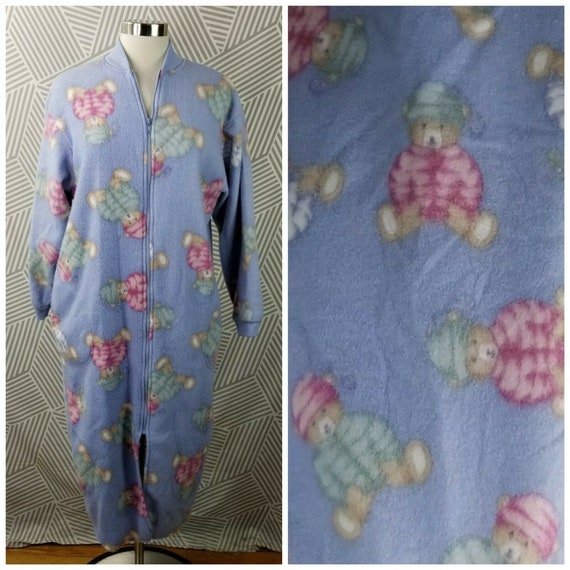 Honors Robe Plus Size Small Housecoat Warm fuzzy f