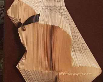 Sitting Cat book art