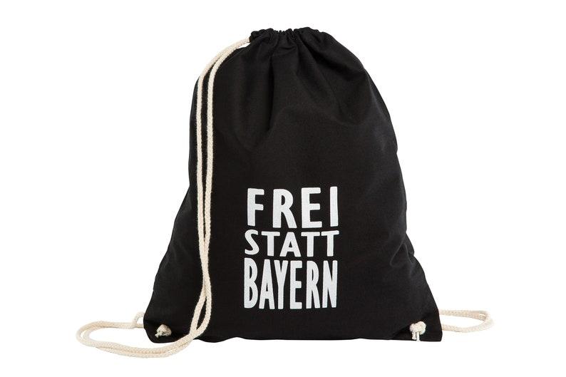 Turnbeutel Sportbeutel Rucksack Frei Statt Bayern