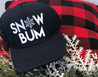 SNOW BUM hat