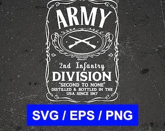 2nd infantry | Etsy
