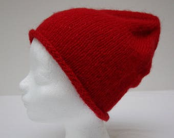 Hip knitted hat in stocking St