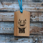 Stay wild luggage tag, Stay wild, wooden bag tag, personalized luggage tag, customized baggage tag, luggage