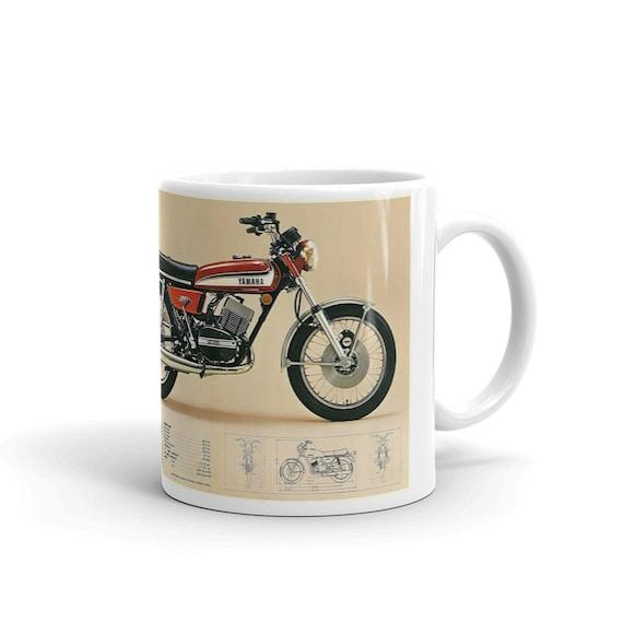 Retro Vintage Triumph Motorcycle Oil Can Mug british,bike,mechanic,vintage