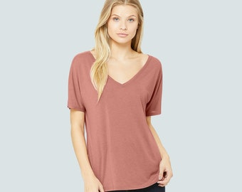 stretchable soft and comfy 100/% cotton with Original Artwork,Great gift for woman,v-neck,handmade in new york,severyn Soft light tee