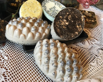 Shea butter and glycerin soaps