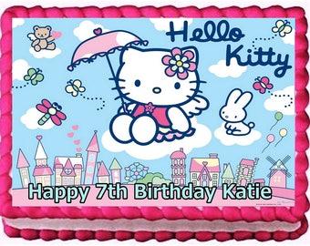 Hello Kitty Birthday Decorations Etsy
