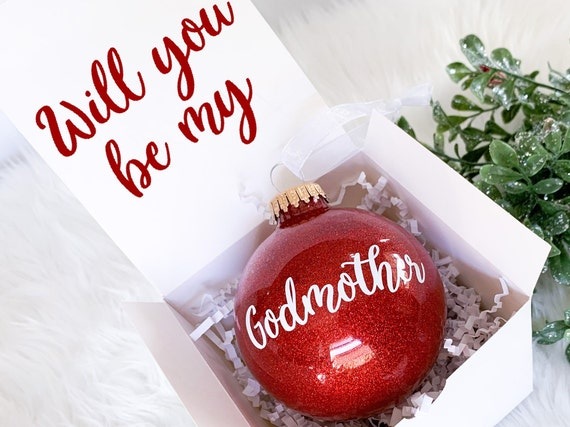Will You Be My Godmother Gift Godmother Proposal Godmother Frame Godmother Christmas Gift Christmas Godparent Gift  Godfather Christmas Gift