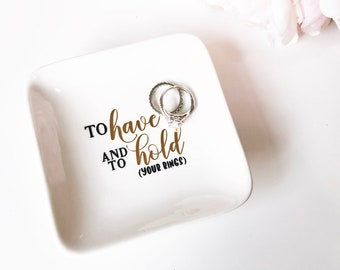 Wedding Ring Holder Ring dish engagement gift jewelry dish personalized ring holder wedding gift for bride to be mrs ring dish bridal shower