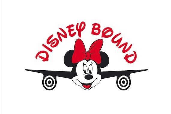 Minnie Mouse svg Disney Bound family shirt design Airplane Mickey Minnie  Mouse SVG Airplane Minnie Disney Bound Disney trip disney world svg