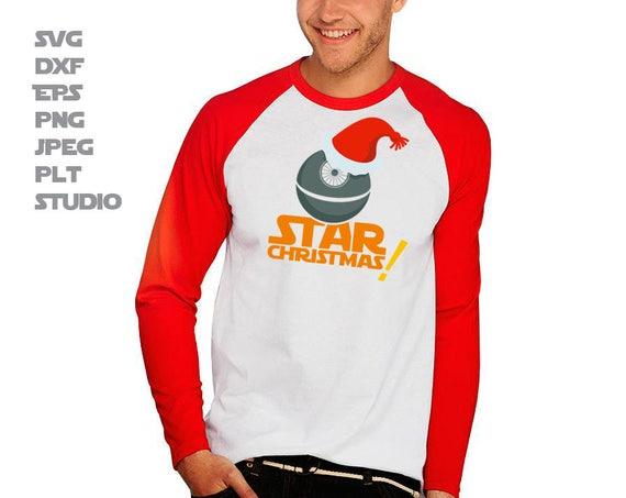 c53680193f8 Death Star Christmas SVG Star wars T-Shirt idea SVG for