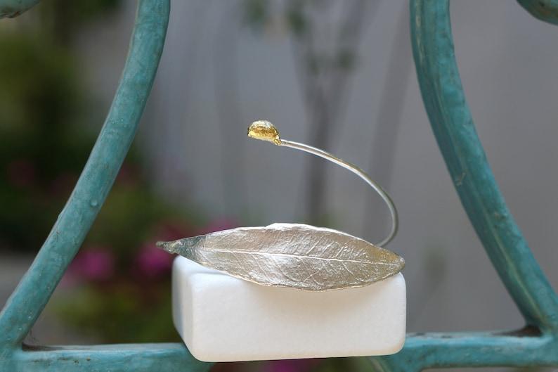 On Sale Today Greek Handmade Olive leaf Bracelet Wedding and image 0