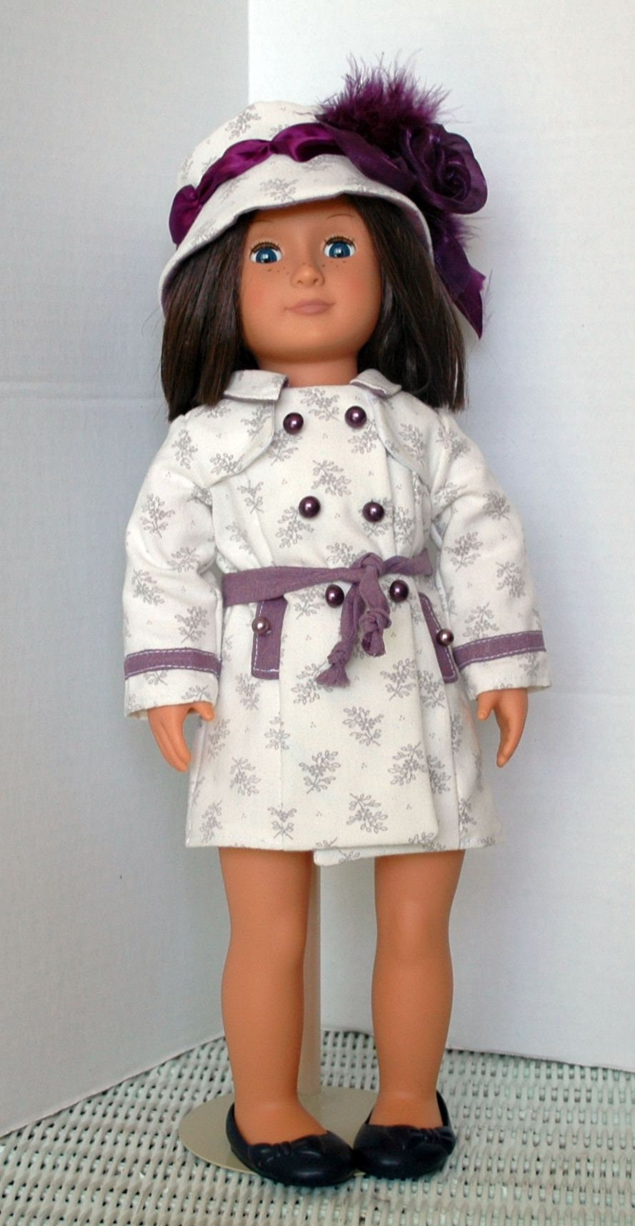 a76e0acf861 Summer Coat and Hat for American Girl