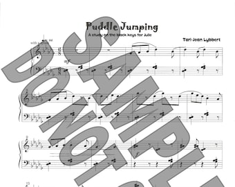 Puddle Jumping sheet music