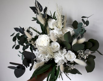 Preserved flower bunch, dried flower bunch, home decoration