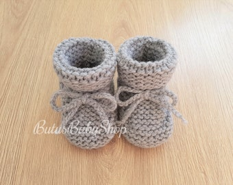 Knitted Baby Booties fc2ea6fed