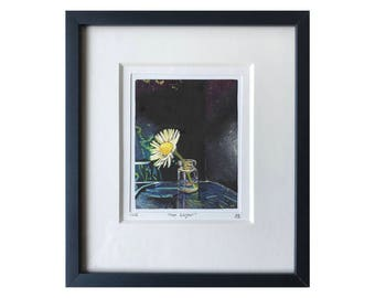 Moon Lagoon. Framed Giclée Print. Limited Edition. By Sophie Epperlein
