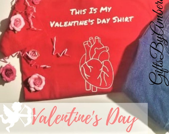 Organ Heart Valentines Day Shirt | Funny Valentines Day Shirt | Real Heart Shirt