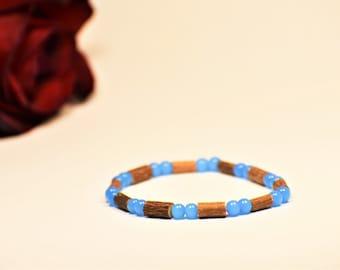 Pure Hazelwood Beaded Stretch Bracelet | Healing Bracelet