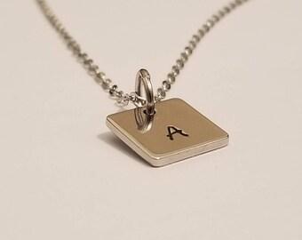 Monogram Necklace | Letter Necklace | Monogram Jewelry | Initial Jewelry | Minimalist Jewelry