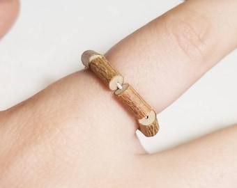 Hazelwood Ring | Plain Hazelwood | Eczema Relief | Natural Healing Remedy | Pure Hazelwood Jewelry