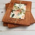Simple Copied Handwriting Frame | In Memory Frame | Memorial Gift | Handwriting Engraved | Wood Burned Frame