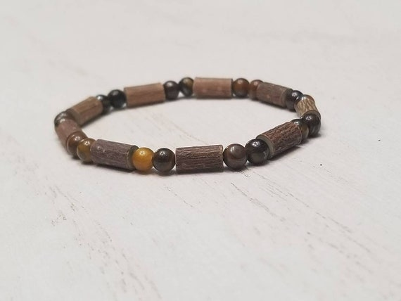 Pure Hazelwood Infant Kids Tiger Eye Stone Bracelet Anklet | Teething Jewelry | Excema Remedy | Natural Remedies | Hazel Wood | Baby Jewelry