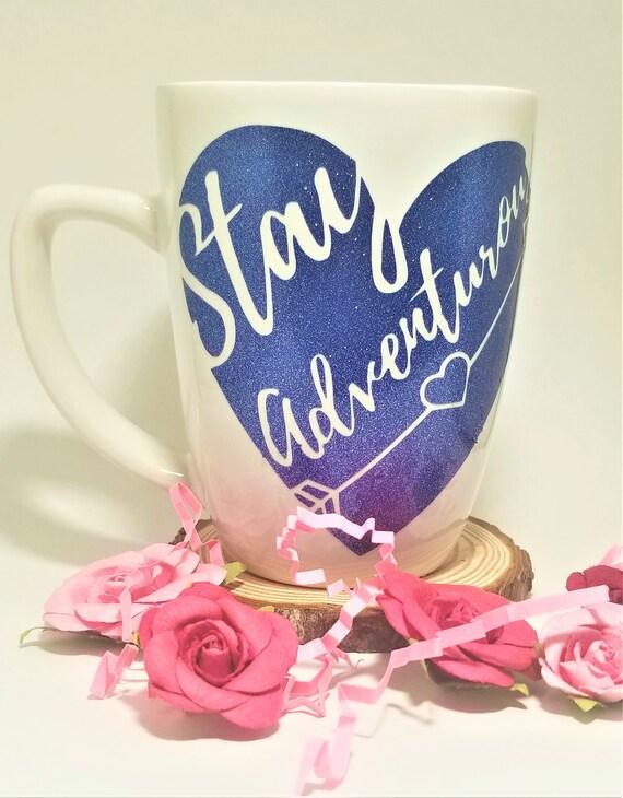 Stay Adventurous Mug | Wanderlust Mug | Adventure Accessories | Travel Lover Mug