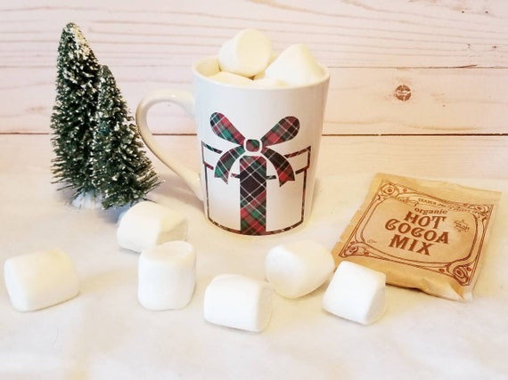 Plaid Christmas Present Mug | Christmas Mug | Coffee Mug | Christmas Gift | Teacher Gift | Gift Ideas | Present Mug | Christmas Plaid