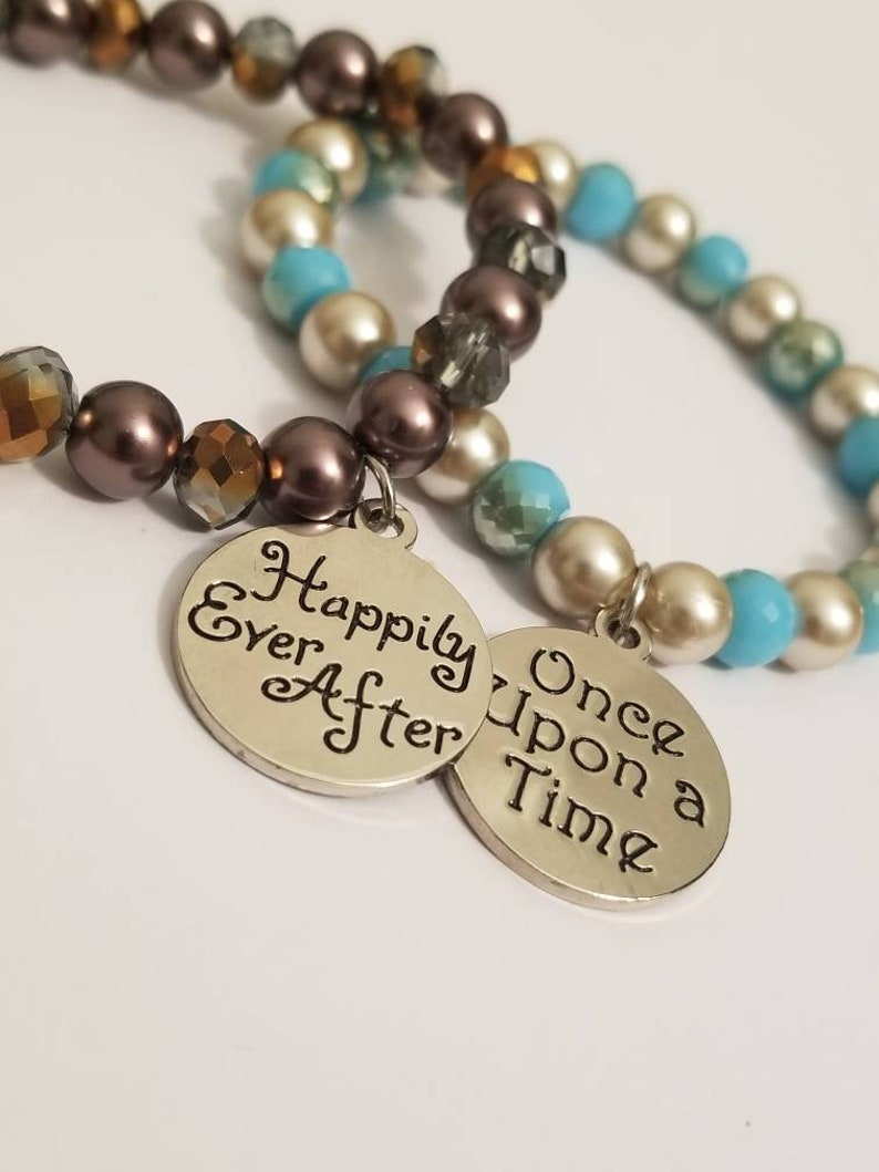 Happily Ever After Hers and Hers Bracelet Set Couples Bracelets