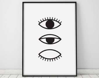 photograph relating to Printable Eye known as Eye print Etsy