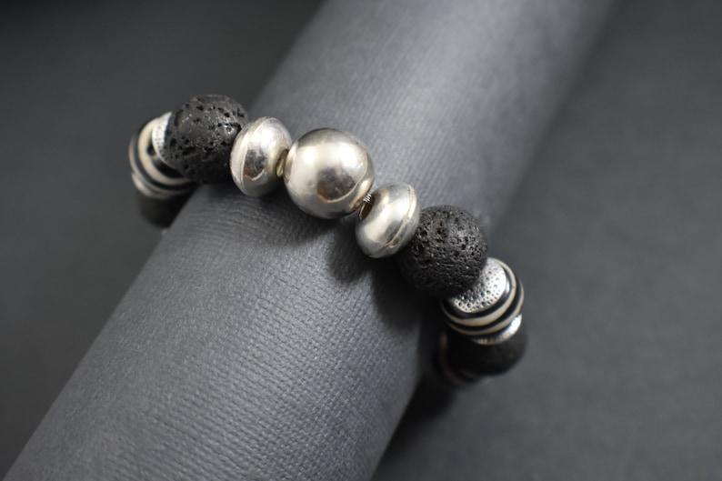 Bracelet Silver black image 0