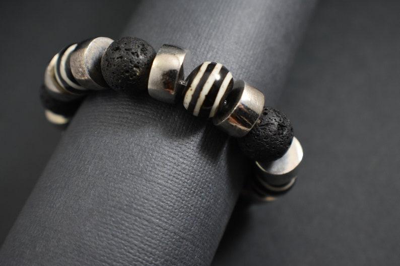 Bracelet Zebra ceramic image 0
