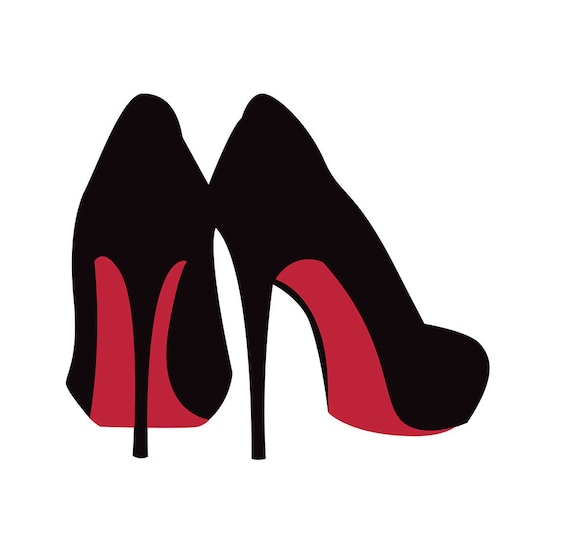 2fc36d5ddde SVG High Heels, Cut File, Stiletto Clipart, SVG, DXF, Jpg, Png, Eps, High  Heels, Beauty Glamour Svg, Womens Shoes, Girley Commercial Use