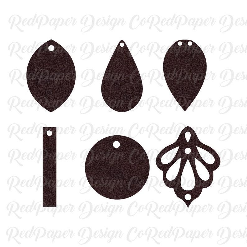 Download Cricut Earrings SVG Faux Leather Earrings SVG Joanna ...