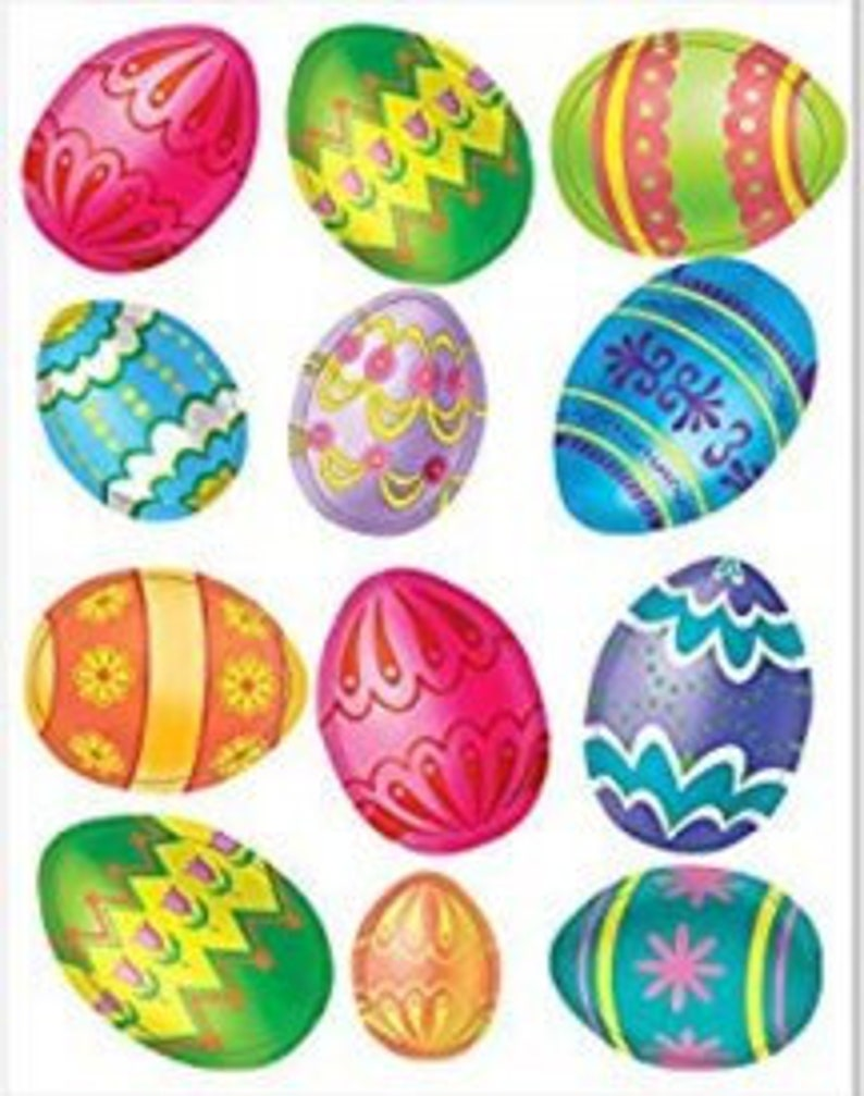 10 Easter Egg Place Cards