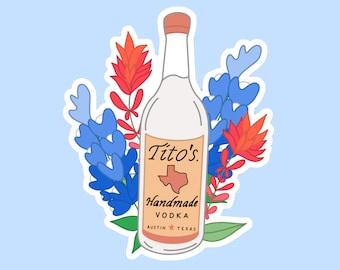 Tito/'s Tacos 60th Anniversary 1959 2019 Culver City Oval Stickers sticker  Vodka