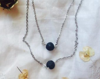 Essential oil, diffuser necklace, diffuser jewelry, lava stone necklace, lava jewelry, essential oils, gift for her, stone necklace, bead